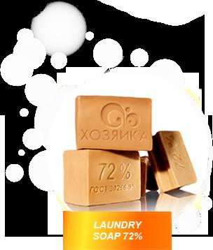 Laundry soap 72%